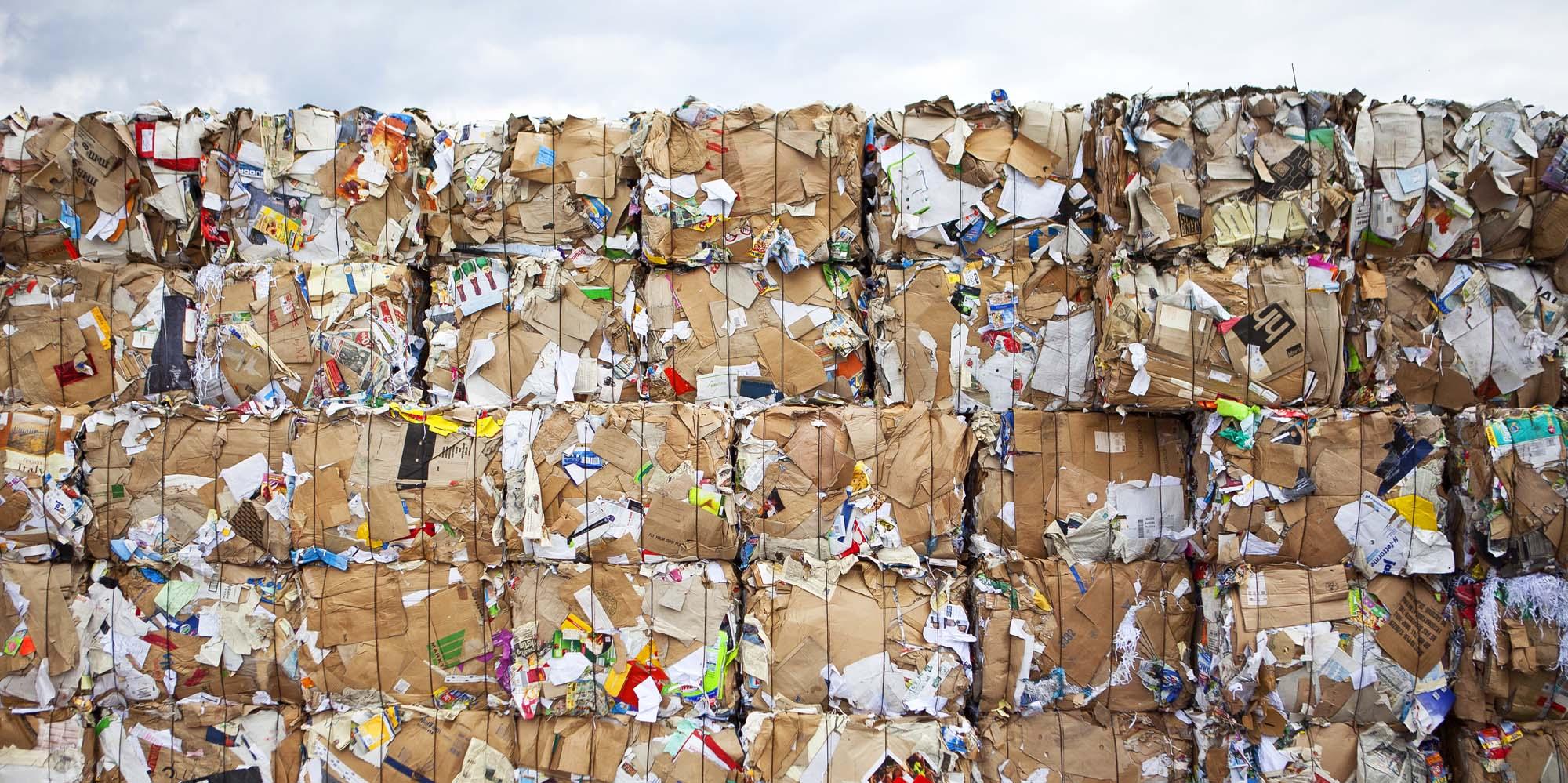 Waste paper: an alternative to virgin fibre